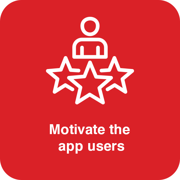 Motivate the app users Element #2